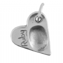 Heart Fingerprint Charm And Torque